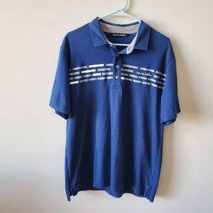 Travis Mathew Mens Golf Polo Shirt  Size XL